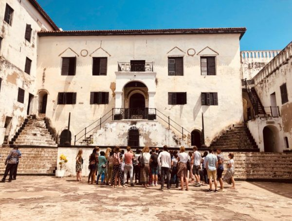 A tour at the Elmina Castle in Ghana
