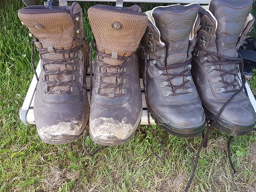 Two Trannies and a Motor Caravanny Broom-Broom: 5 These Boots Were Made for Walking…