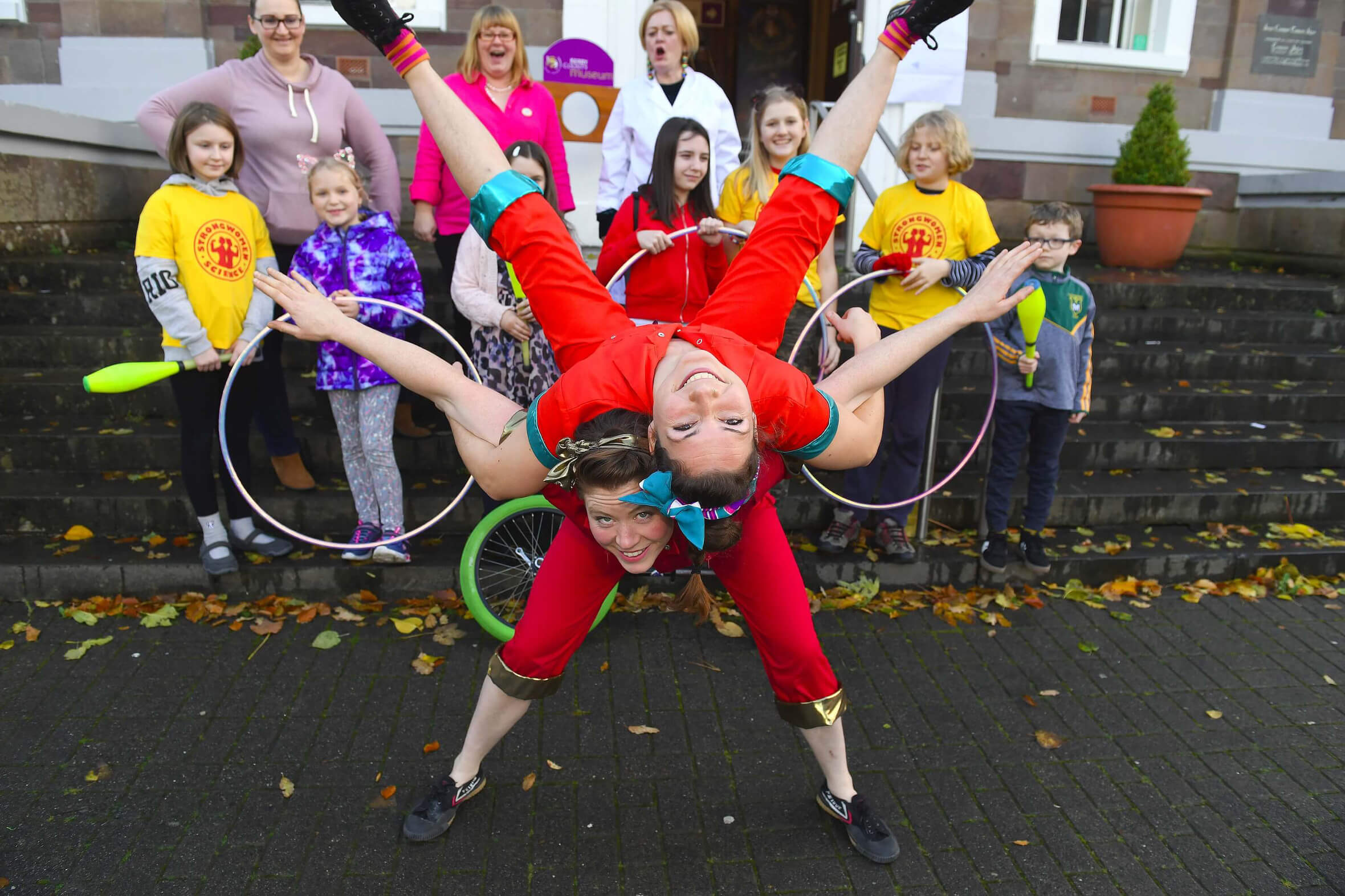 SWS Kerry County Museum, Nov 2018, Irish premiere as part of Circus250, national Science Week Tralee. Courtesy of Circus250