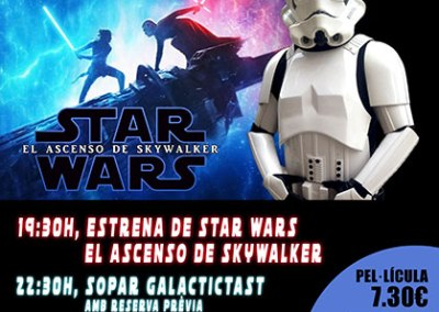 GALACTICTAST STAR WARS IX: EL ASCENSO DE SKYWALKER