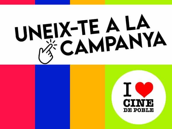 Campanya I love cine de poble