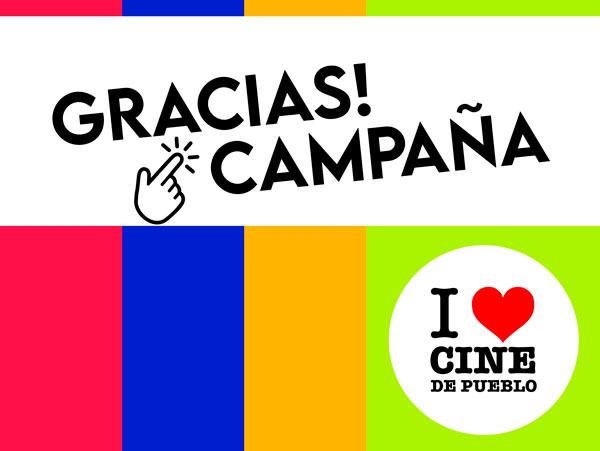 Campaña I love cine de pueblo