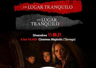 Pre-estrena de 'Un lugar tranquilo 2' i marató de la saga als Cinemes Majèstic (Tàrrega)