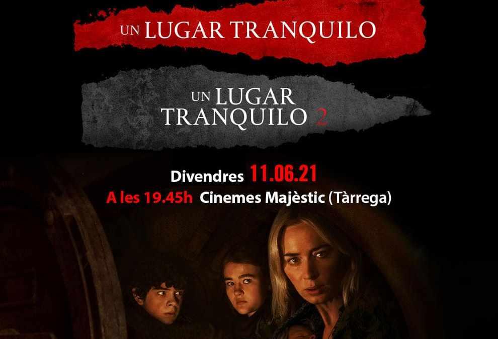 Pre-estreno de 'Un lugar tranquilo 2' y maratón de la saga a los Cines Majèstic (Tàrrega)