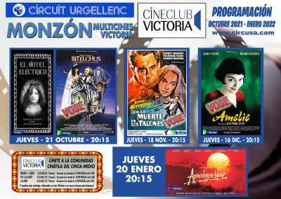 Cine Club Victoria 2021-2022