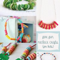 five fun necklace crafts {for kids}