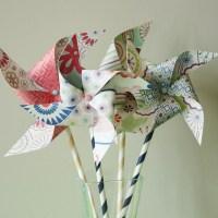 pretty pinwheels {diy}