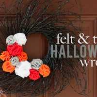 halloween wreath {diy}
