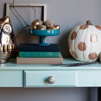 wordless wednesday {late fall entry table}