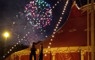 Circus Flora Big Top and Fireworks