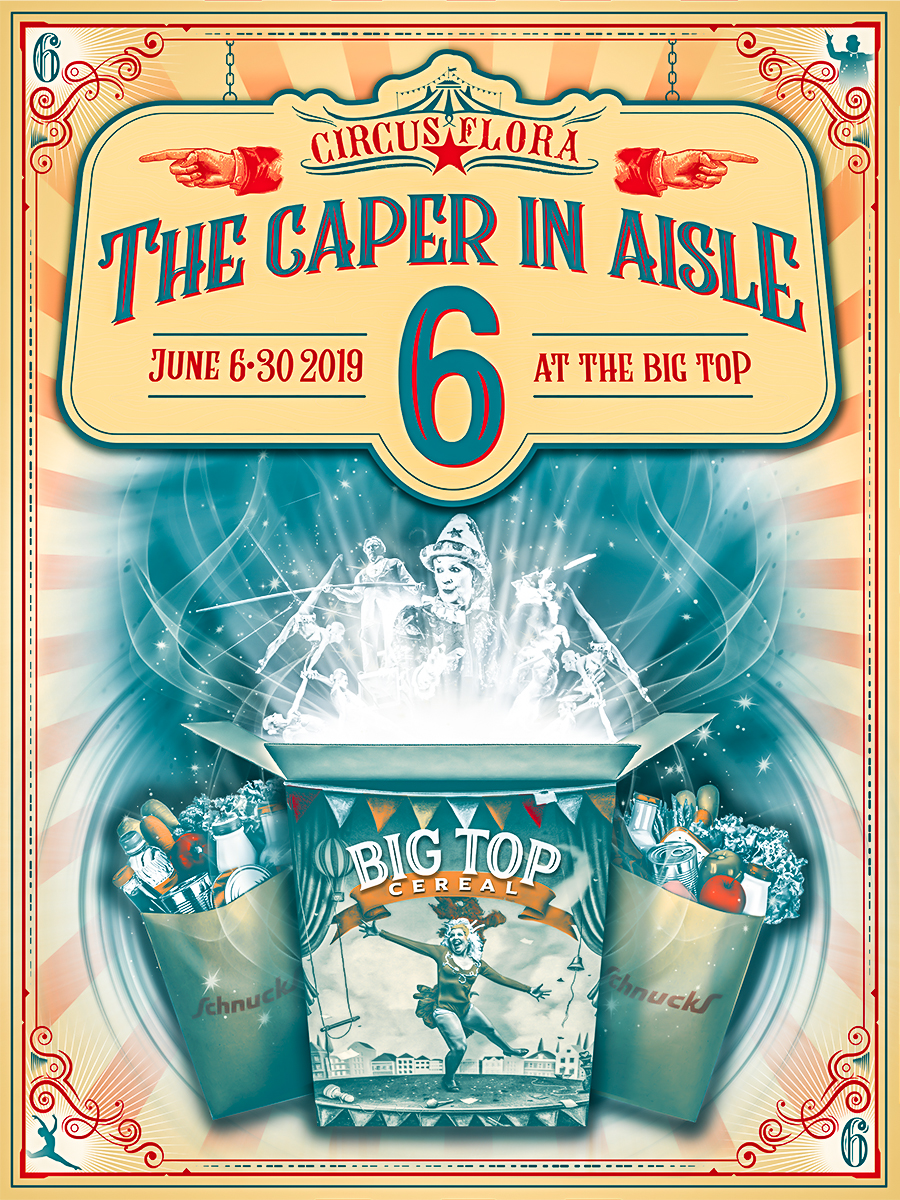 The Caper in Aisle 6 Poster