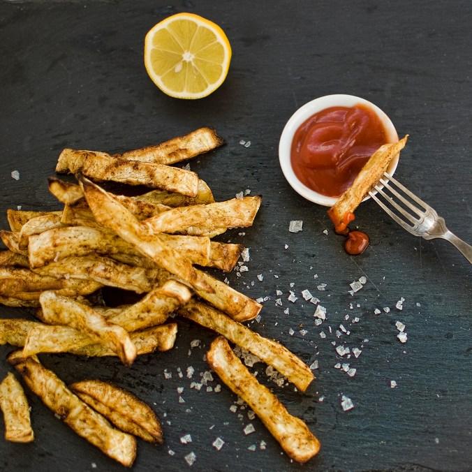 celeriac fries