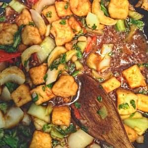 Vietnamese tofu stir fry