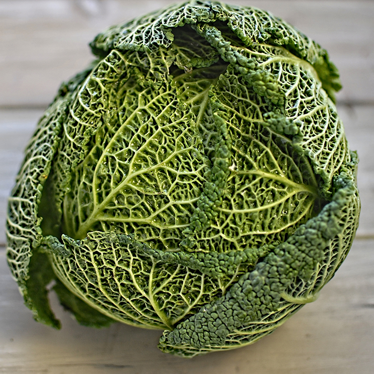 Roast Savoy Cabbage With Miso And Sesame The Circus Gardener S Kitchen