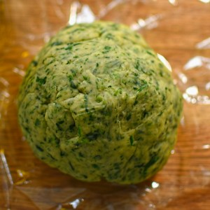 wild garlic pasta dough