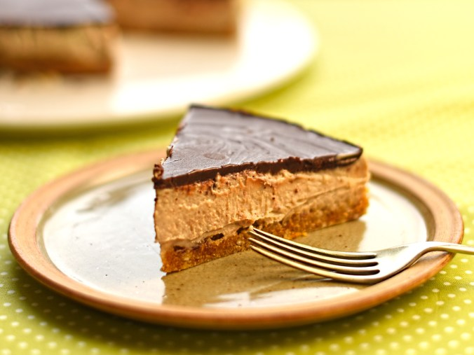 chestnut and chocolate tart
