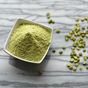 green split pea flour