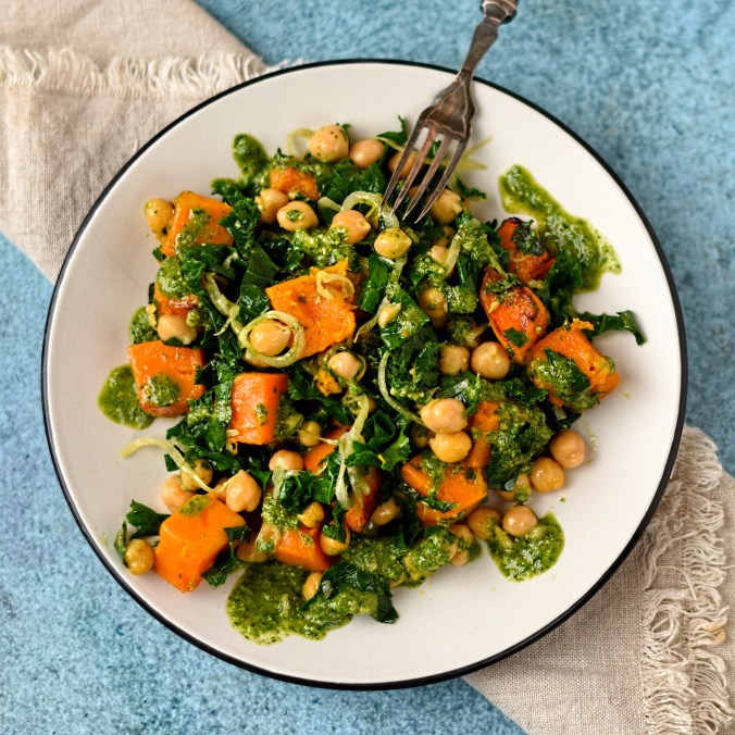 warm-salad-of-butternut-squash-chickpea-and-kale-2
