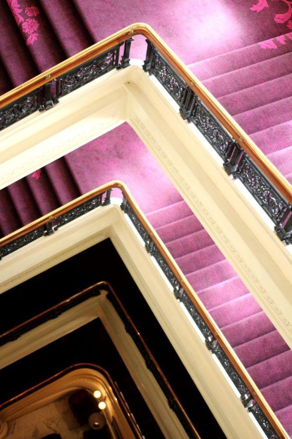 amba hotel staircase