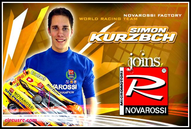 Simon Kurzbuch rejoint Novarossi.