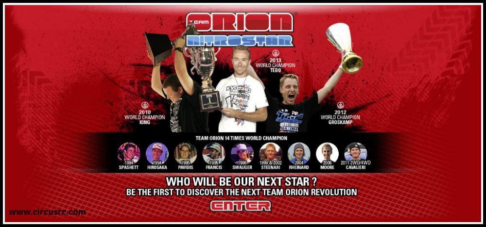 Team Orion à la recherche de sa nouvelle star !