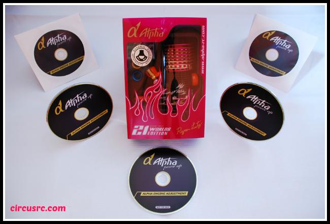 Le Ryan Lutz Worlds sera livré avec des CDs explicatifs