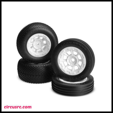 Jantes et pneus vintage pour Asso RC10 Classic chez JConcepts