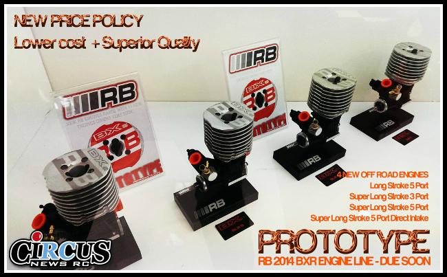 De nouveaux moteurs RB prototypes se montrent.