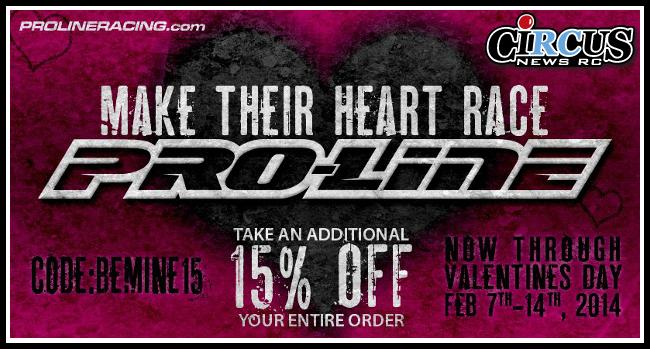 Valentine's day sale! Pro-Line