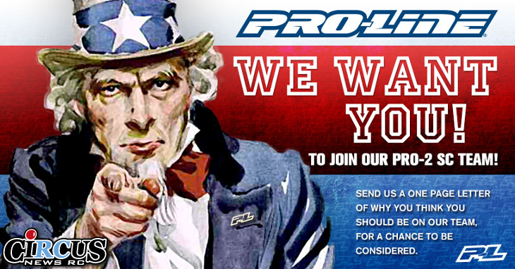 Pro-Line: We want you!