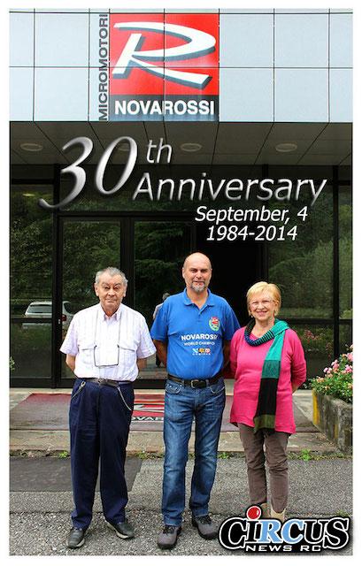 Novarossi fête ses 30 ans!