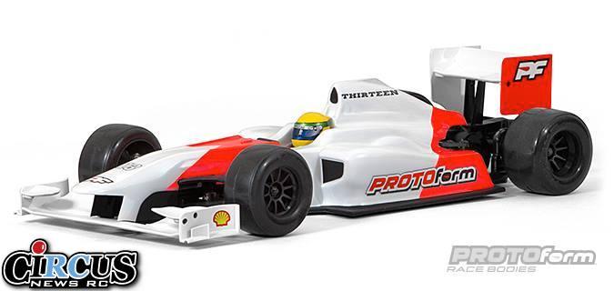 Carrosseries F1 Thirteen et Fourteen chez PROTOform