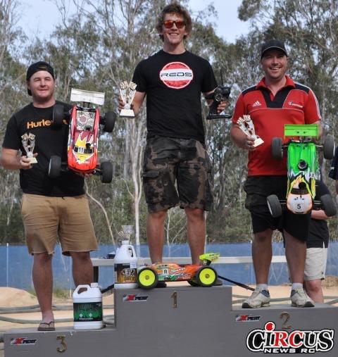 Aaron Stringer gagne à Brisbane