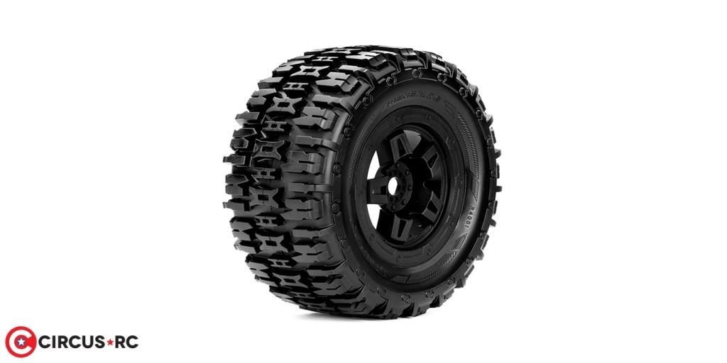 HRC Distribution l Pneu Roapex Renegade pour 1/8 Monster Truck