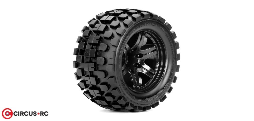 Roapex l Pneus Rhythm & Morph pour 1/10 Monster Trucks