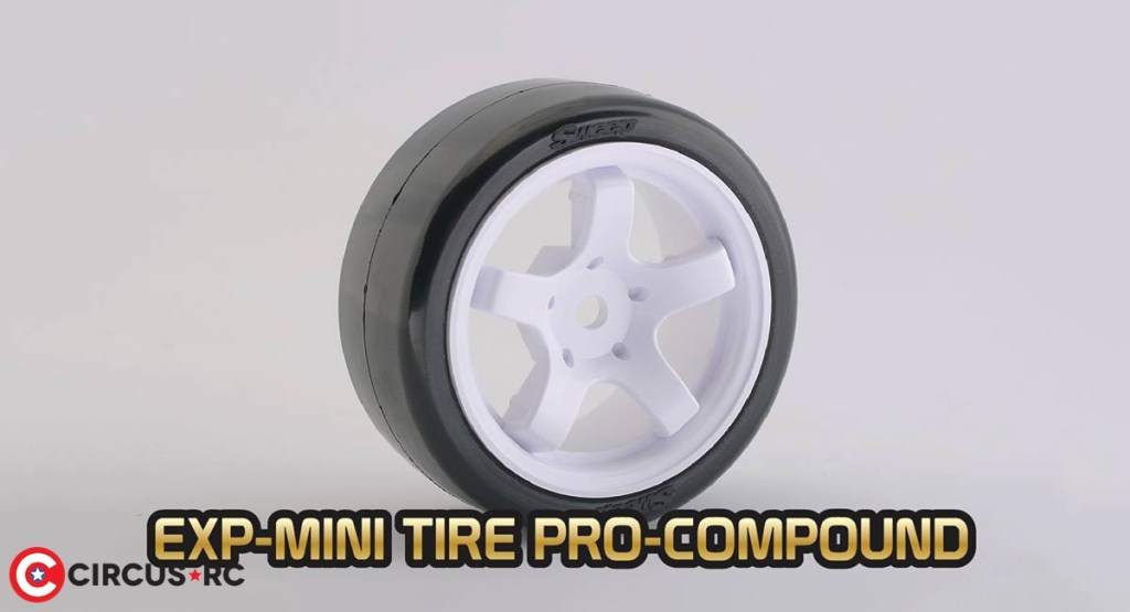Sweep l Pneus EXP-Mini gomme Pro pour Mini Chassis