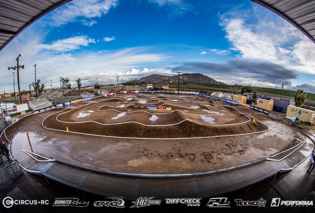 The Dirt Nitro Challenge 2019: the track