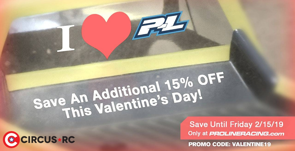 Happy Valentine's Day from Pro-Line!
