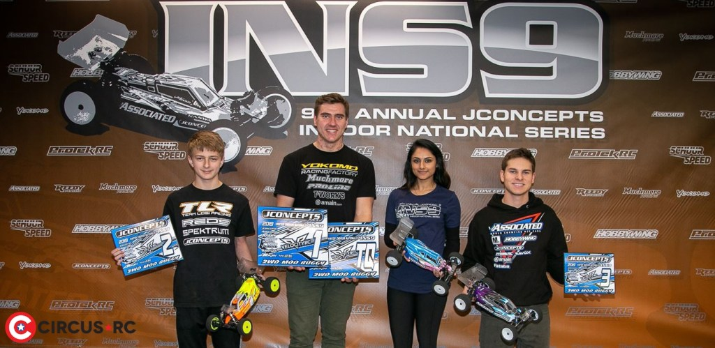 Richards & Fuller win at JConcepts Winter INS9