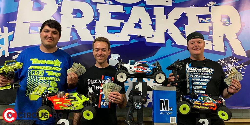 Tebo & Bornhorst win at 2019 Ice Breaker race