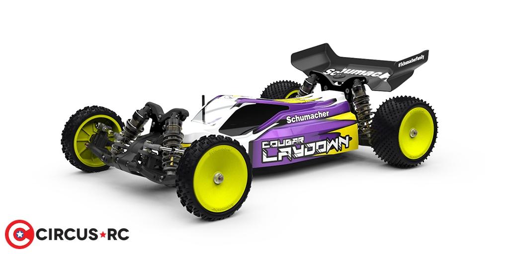 Schumacher Cougar Laydown 2WD buggy