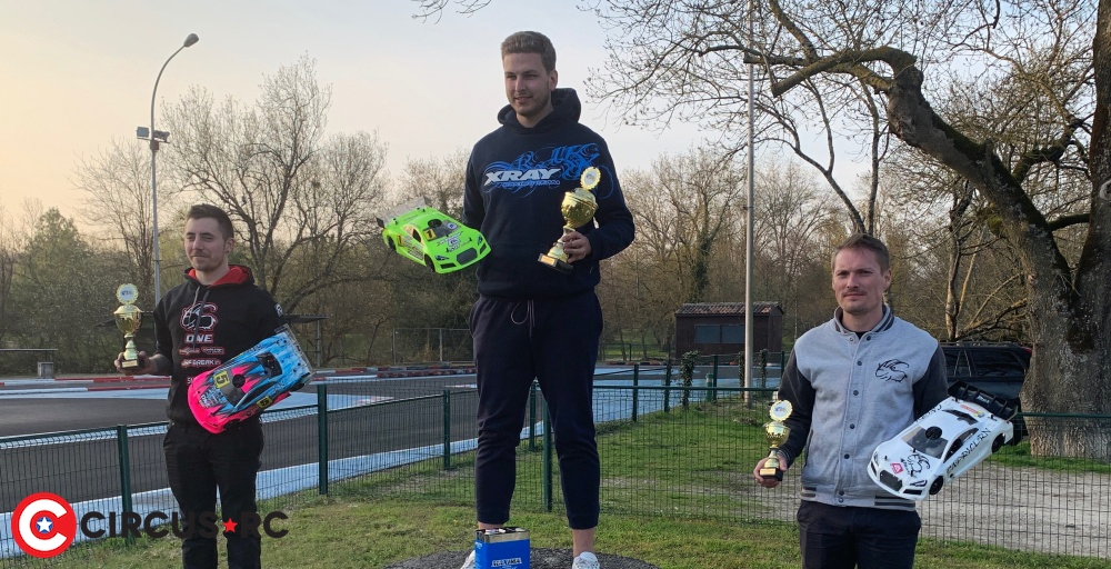 Léo Arnold wins at French 200mm Nats Rd1