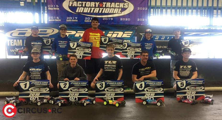 Ty Tessmann doubles at Factory Tracks Invitational race