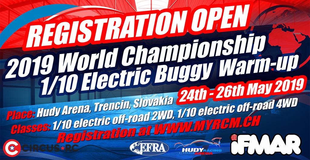 Entries open for 2019 IFMAR 1/10 Buggy Worlds warm-up