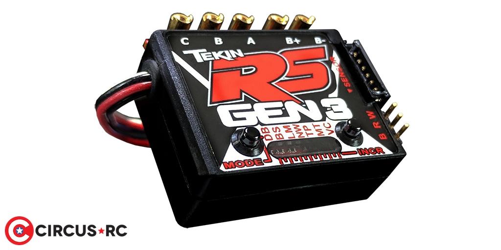 Tekin RS Gen3 & RS Gen3 Spec 1/10 speed controllers