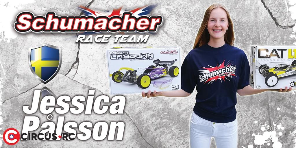 Schumacher signs Jessica Pålsson