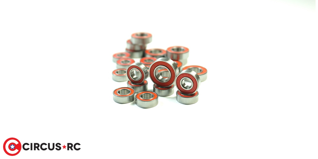 SWORKz 1/10 & 1/8 rubber-sealed ball bearing sets