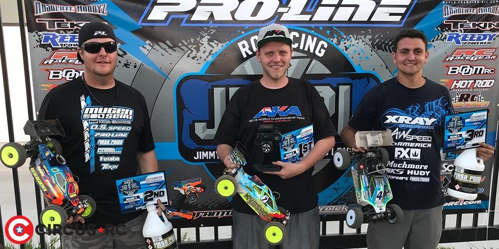 Cody King wins at JBRL Rd4