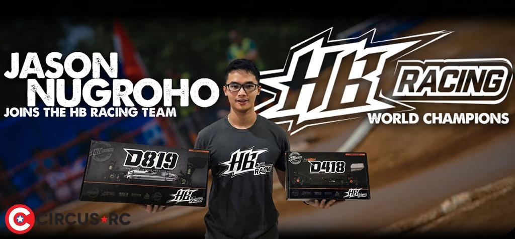 Jason Nugroho teams up with HB Racing