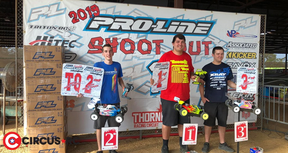 Joe Bornhorst doubles at 2019 Pro-Line Shootout